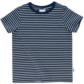 Finkid Supi T-Shirt Kids navy/offwhite